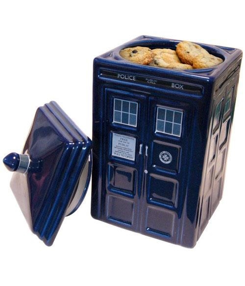 Doctor Who - Tardis - Cookie Jar