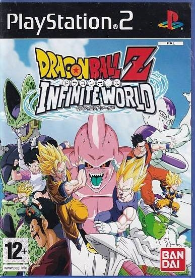Dragon Ball Z Infinite World - PS2 (Genbrug)