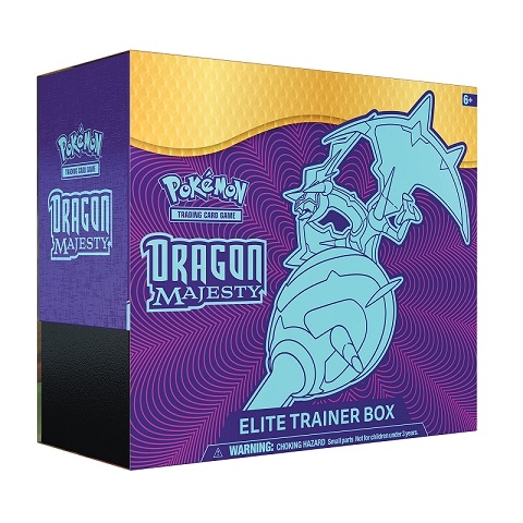 Dragon Majesty - Elite Trainer Box - Pokemon kort
