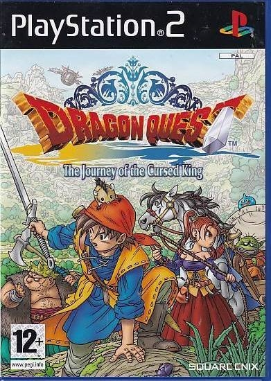 Dragon Quest VIII Journey of the Cursed King - PS2 (A Grade) (Genbrug)