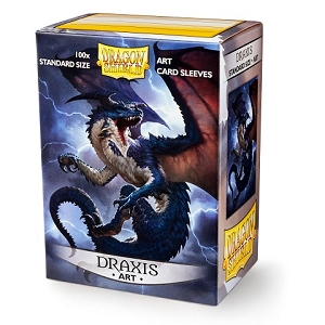 Dragon Shield Art Sleeves - Draxis (100 standard Sleeves) - Plastiklommer