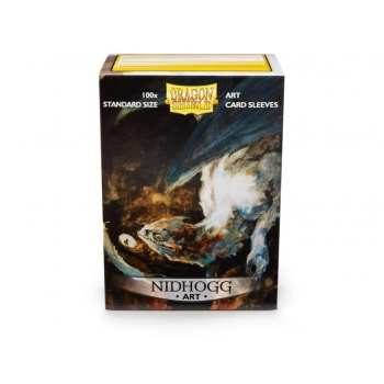 Dragon Shield Art Sleeves - Nidhogg (100 standard Sleeves) - Plastiklommer