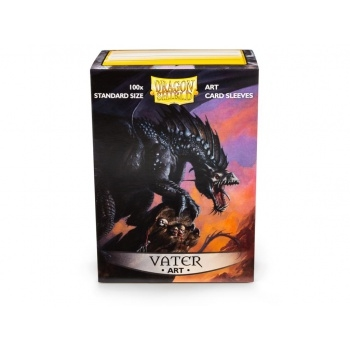 Dragon Shield Art Sleeves - Vater (100 standard Sleeves) - Plastiklommer