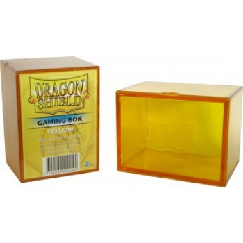 Kort tilbehør - Dragon Shield Gaming Box – Yellow