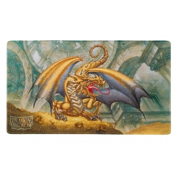 Dragon Shield Play Mat - Gold (Limited Edition) - Kort Tilbehør