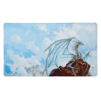 Dragon Shield Play Mat - Silver (Limited Edition) - Kort Tilbehør