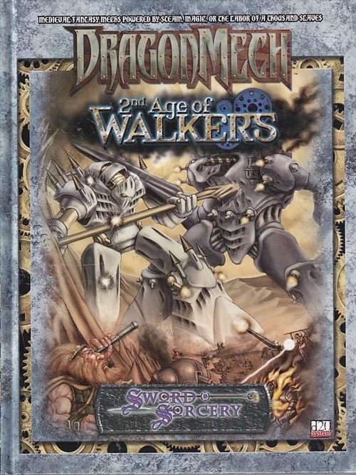 DragonMech - 2nd Age of Walkers (Genbrug)