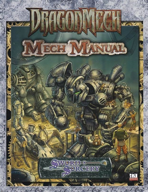 DragonMech - Mech Manual (Genbrug)
