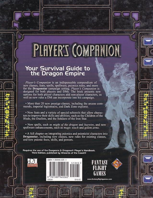 Dragonstar - Players Companion (Genbrug)