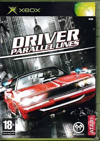 Driver Parallel Lines - XBOX (B Grade) (Genbrug)