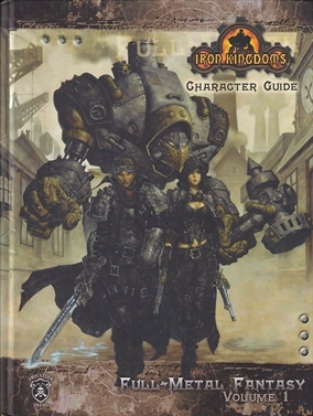 Dugeons & Dragons 3.5 - Iron Kingdoms - Character Guide (B-Grade) (Genbrug)
