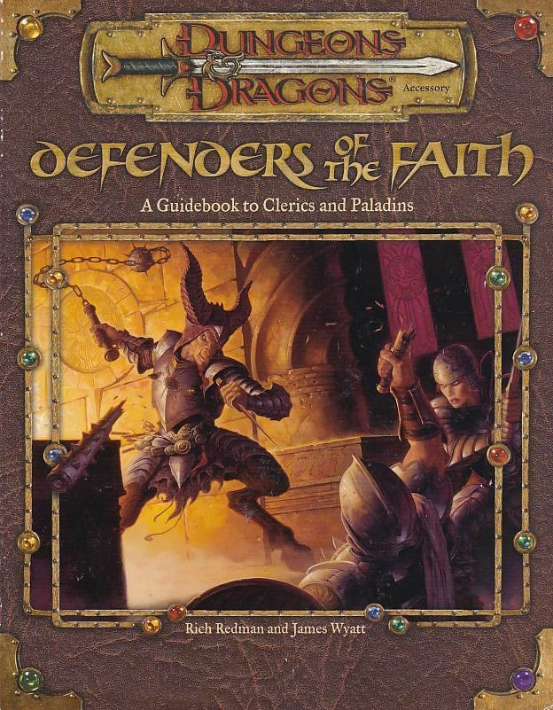 Dungeons & Dragons 3.0 - Defenders of the Faith (Genbrug)