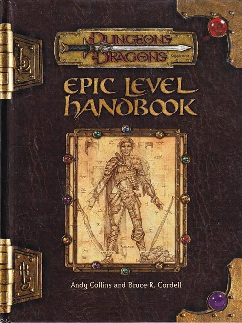 Dungeons & Dragons 3.0 - Epic Level Handbook (Genbrug)