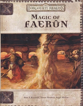 Dungeons & Dragons 3.0 - Forgotten Realms - Magic of Faerun (B-Grade) (Genbrug)