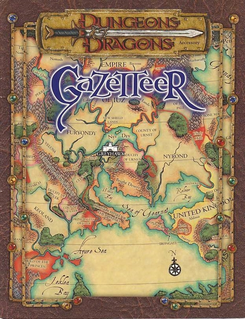 Dungeons & Dragons 3.0 - Gazetteer (Genbrug)
