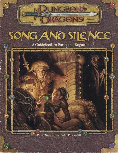 Dungeons & Dragons 3.0 - Song and Silence (Genbrug)