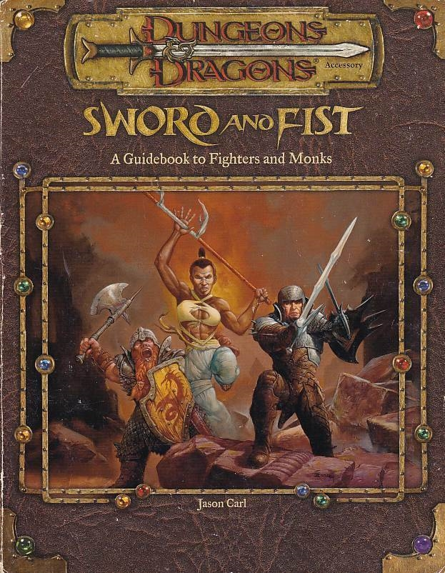 Dungeons & Dragons 3.0 - Sword and Fist (Genbrug)