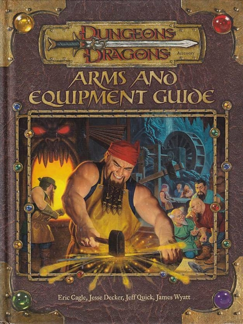 Dungeons & Dragons 3.5 - Arms and Equipment Guide (B-grade)(Genbrug)