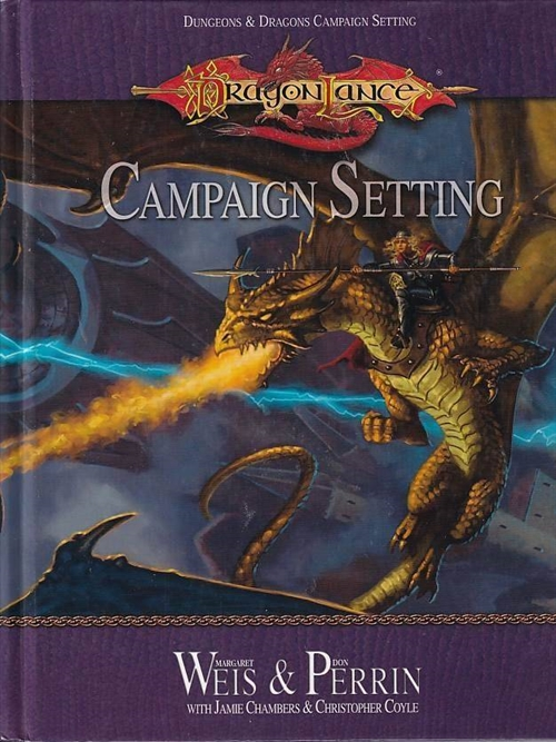 Dungeons & Dragons 3.5 - Dragonlance Campaign setting (Genbrug)