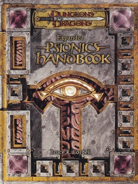 Dungeons & Dragons 3.5 - Expanded Psionics Handbook (Genbrug)