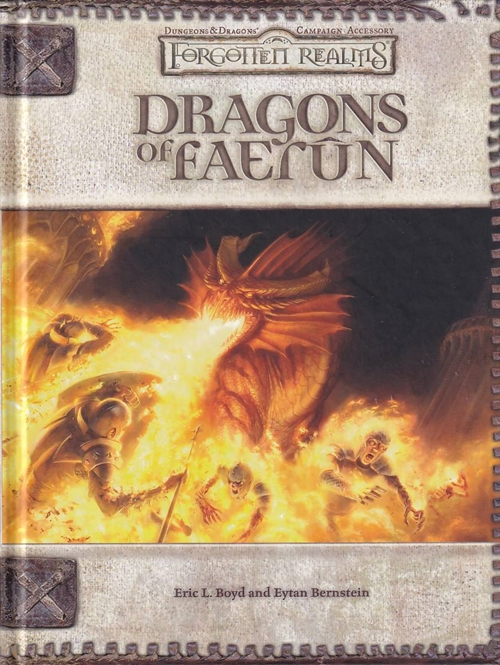 Dungeons & Dragons 3.5 - Forgotten Realms - Dragons of Faerun (B Grade) (Genbrug)