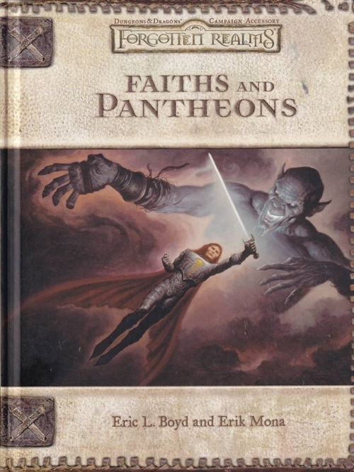 Dungeons & Dragons 3.5 - Forgotten Realms - Faiths and Pantheons (B Grade) (Genbrug)