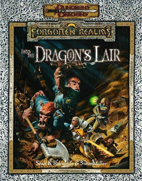 Dungeons & Dragons 3.5 - Forgotten Realms - Into the Dragons Lair (B Grade) (Genbrug)