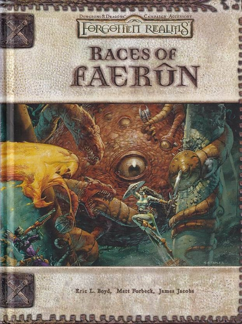 Dungeons & Dragons 3.5 - Forgotten Realms - Races of Faerun (Genbrug)
