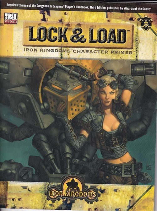 Dungeons & Dragons 3.5 - Iron Kingdoms - Lock & Load (B-Grade) (Genbrug)