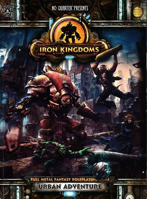 Dungeons & Dragons 3.5 - Iron Kingdoms - Urban Adventure (B-Grade) (Genbrug)