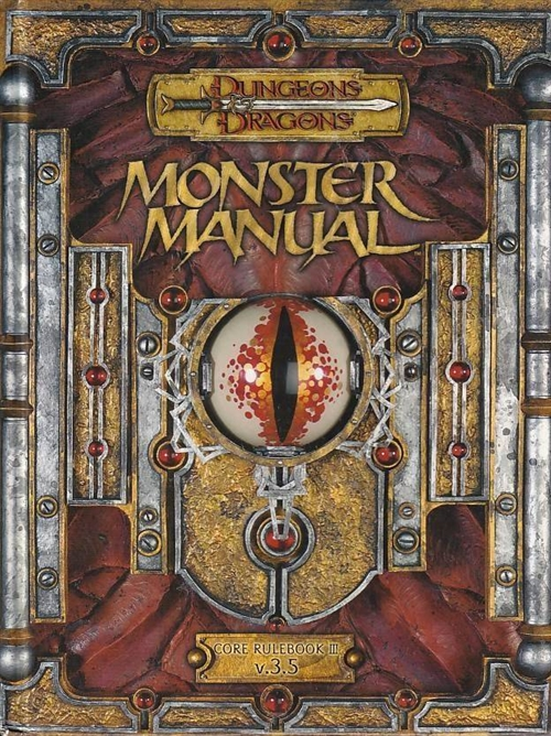 Dungeons & Dragons 3.5 - Monster Manual (Genbrug)