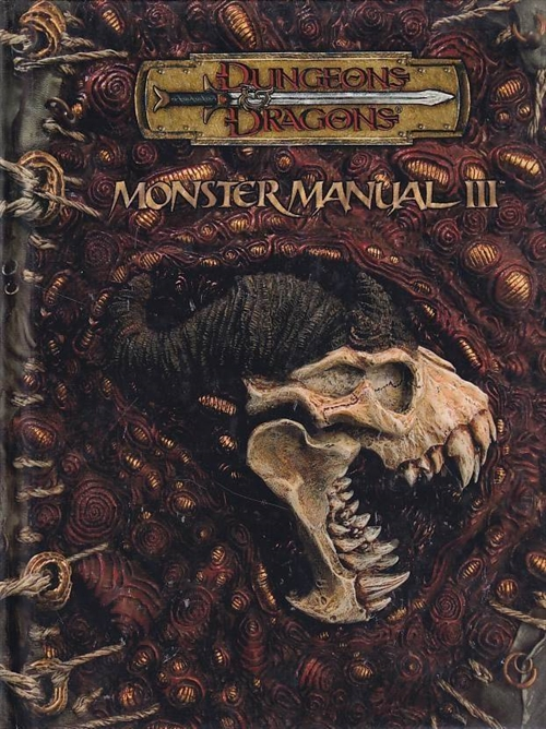 Dungeons & Dragons 3.5 - Monster Manual 3 (A-Grade) (Genbrug)