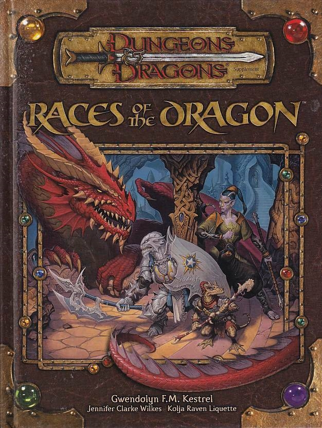 Dungeons & Dragons 3.5 - Races of the Dragon (Genbrug)