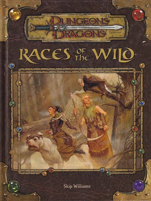 Dungeons & Dragons 3.5 - Races of the Wild (B-Grade) (Genbrug)