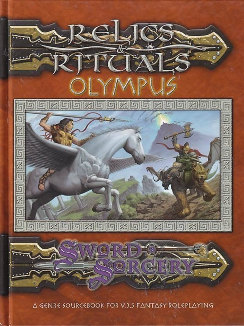 Dungeons & Dragons 3.5 - Relics & Rituals Olympus (Genbrug)