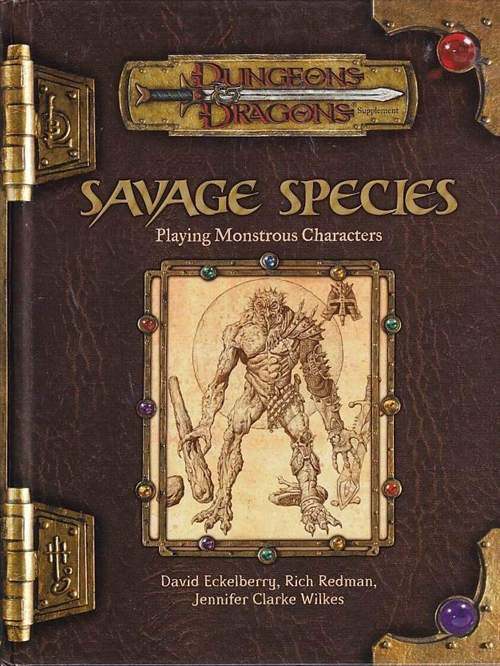 Dungeons & Dragons 3.5 - Savage Species (Genbrug)