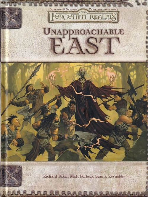 Dungeons & Dragons 3.5 Forgotten Realms Unapproachable East (Genbrug)