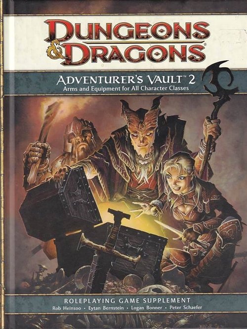 Dungeons & Dragons 4th - Adventurers Vault 2 (Genbrug)