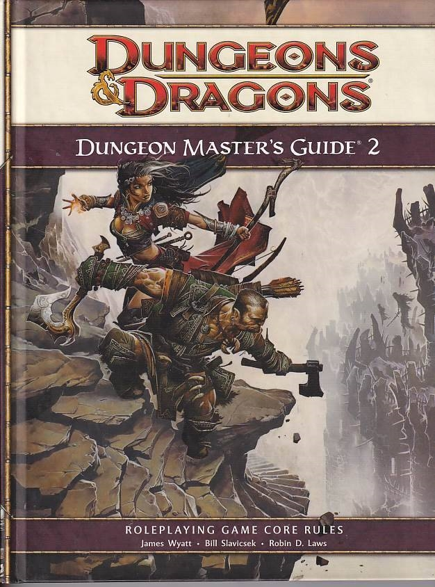 Dungeons & Dragons 4th - Dungeon Masters Guide 2 (B-Grade) (Genbrug)