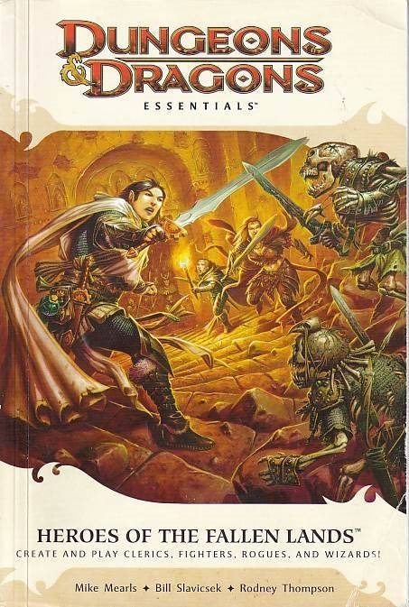 Dungeons & Dragons 4th - Essentials - Heroes of the Fallen Lands (Genbrug)