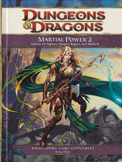 Dungeons & Dragons 4th - Martial Power 2 (B-Grade) (Genbrug)