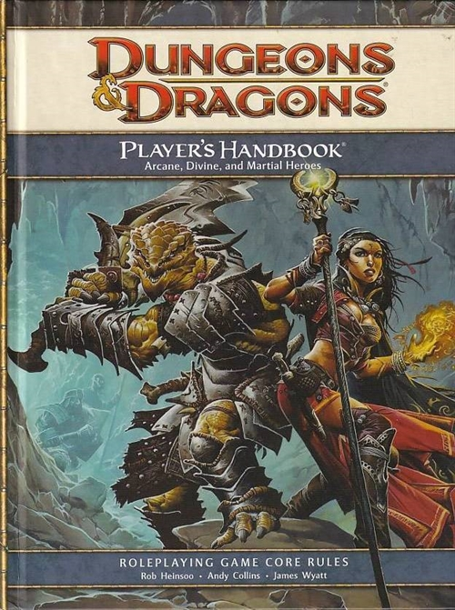 Dungeons & Dragons 4th - Players Handbook (Genbrug)