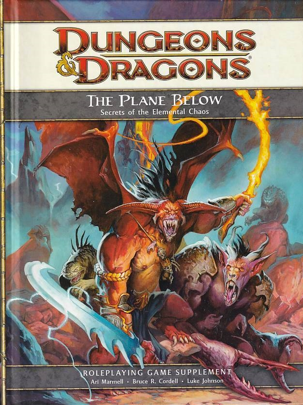 Dungeons & Dragons 4th - The Plane Below (B-Grade) (Genbrug)
