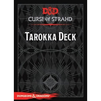 Dungeons & Dragons 5th -  Curse of Strahd Tarokka Deck (54 Cards)
