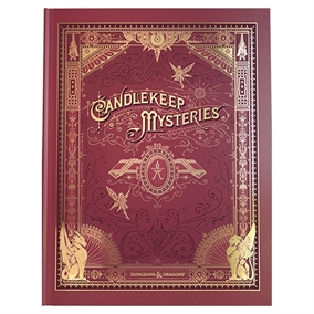 DnD 5e - Candlekeep Mysteries - Limited Alternate Cover Edition