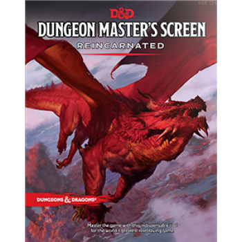 Dungeons & Dragons 5th - Dungeon Masters Screen Reincarnated - Rollespils tilbehør