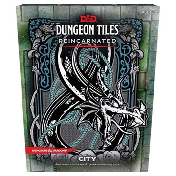 Dungeons & Dragons 5th - Dungeon Tiles Reincarnated City - Rollespils tilbehør