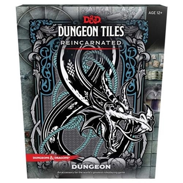 Dungeons & Dragons 5th - Dungeon Tiles Reincarnated Dungeon - Rollespils tilbehør