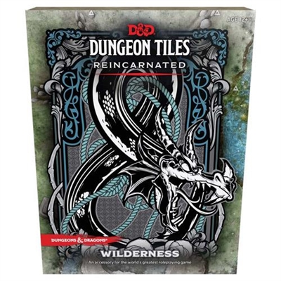 Dungeons & Dragons 5th - Dungeon Tiles Reincarnated Wilderness - Rollespils tilbehør