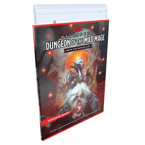 Dungeons & Dragons 5th - Dungeon of the Mad Mage Maps and Miscellany
